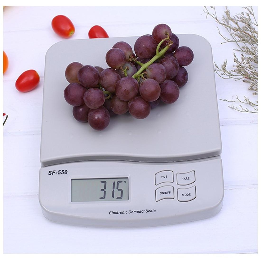 25 kg/1g alimentaire régime échelle numérique LCD rétro-éclairage électronique alimentaire régime cuisine poids Balance haute précision bijoux offre spéciale - 4