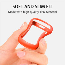 Soft Silicone Watch Case For Apple Watch 4 Fully Enclosed Protective Case For Iwatch Series 44/40mm
