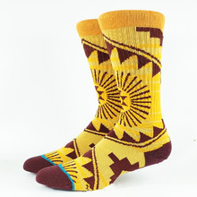 Men s Skate Golden King Crew Socks USA Size M 6 9 Euro Size 39 42