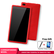 SZOXBY For Lenovo Tab 7 Essential Cover Silicone Drop TB-7304X/I/F/N Inch Bracket Hockproof Shockproof Washable