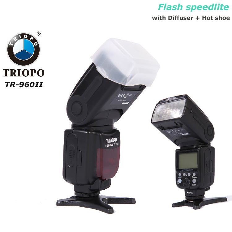 TR-960II Speedlite Flash Light for Nikon D7000 D5000 D5100 D3200 D3100 D80 D4 Canon 5DII 5DIII 650D 600D 550D 450D диля 978 5 88503 960 4