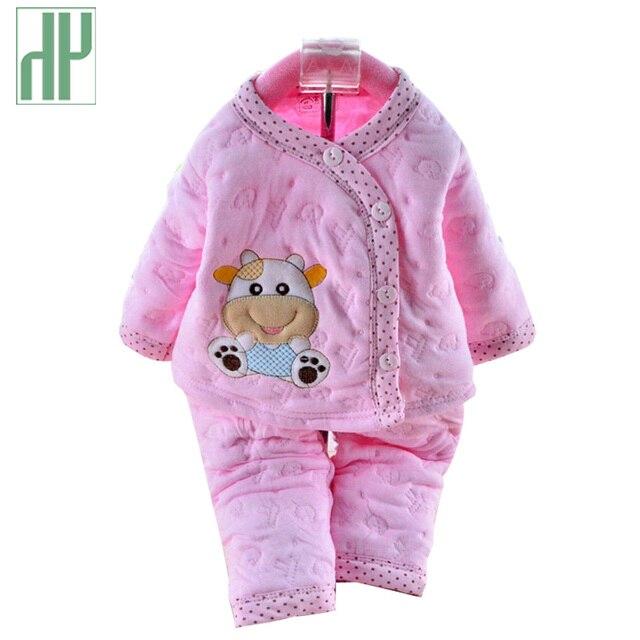 b32950c8c Ropa de bebé de 0 a 6 meses de otoño invierno ropa infantil conjunto de  dibujos