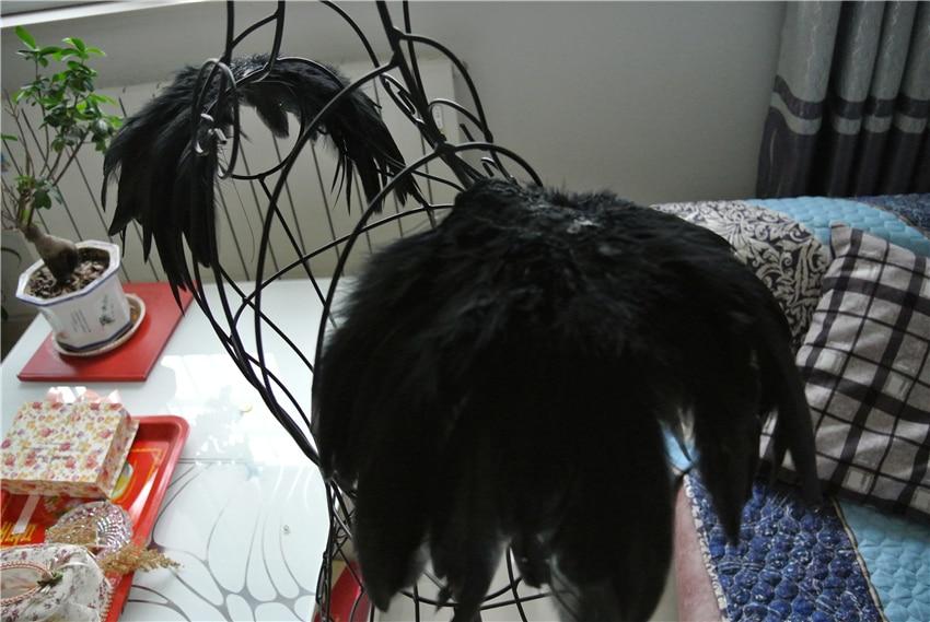 Handmade Black Feather Epaulette Pads Carnival Feather Shoulder Shrug Burning Man Festival Epaulettes Halloween Decor