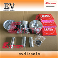Для Mitsubishi K3E Набор для восстановления двигателя K3E поршень + поршневое кольцо и уплотнительная прокладка комплект