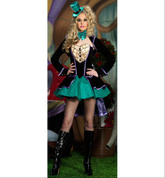 2014 New Arrival Fashion Halloween Costumes For Women Fantasias Cosplay Clothes Set Cheap Hot Sale Free