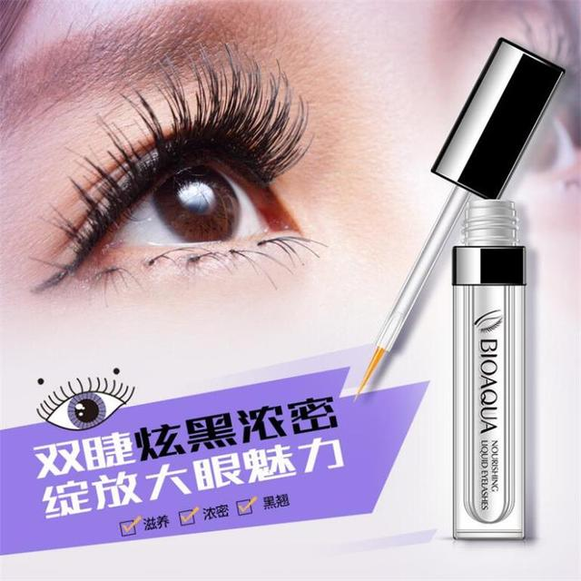 BIOAQUA Original Eyelash Growth Treatments 7 Days Longer Thicker Enhancer Serum Growth Eyebrows Beard Hairline Eyes Care 4