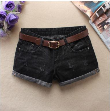 2019 Summer Sexy   Shorts   Womens Denim   Shorts   Feminino Hole Denim   Shorts   Jean Low Waist   Shorts   For Women S/3Xl Without Belt J2716