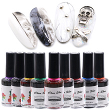 15ml Halo Dye Gel Nail Polish Flower Design UV For Manicure Ink Lacquer Varnish LED Flourishing blooming