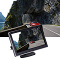 5 ''polegadas Universal Digital High-definition HD Câmera de Monitoramento de Exibição Reverso Carro Preto 3 W 480RGBx272 Otário para revisão da câmera
