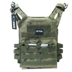 Охотничьи Тактические аксессуары, бронежилет JPC, жилет для переноски, маг, нагрудная установка, страйкбол, пейнтбол, снаряжение для загрузки...