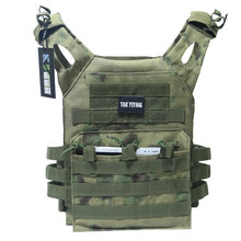 Hunting Tactical Accessoris Body Armor JPC Plate Carrier Vest Mag Chest Rig Airsoft Paintball Gear Loading Bear Vests Camouflage(China)