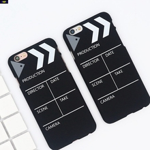 Cyato Fashion Record Board Phone Case For iPhone X Case Frosted Cute Hard PC Back Cover for iPhone 8 7 6S 6 Plus 5S 5C SE Shell стоимость