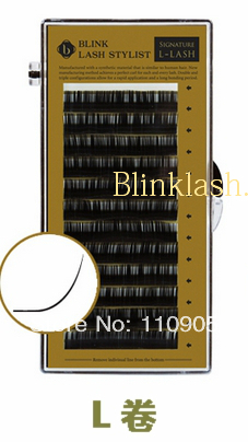 L LASH 0.20THICK* 8mm BLINK Individual  Fals Eyelash Extension Lash Free Shipping концентрат ardell lash free individual eyelash adhesive remover