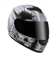 full motorcycle helmet modular full face helmets with sunny visor moto racing helmets M L XL XXL hilldown helmet moto casco