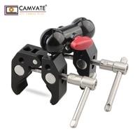CAMVATE Articulating Magic Arm with 2pcs Super Clamp Crab Plier Clip C1441 camera photography accessories