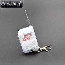 Free shipping  433MHz Wireles GSM Alarm System plastic white  Wireless remote control  1piece