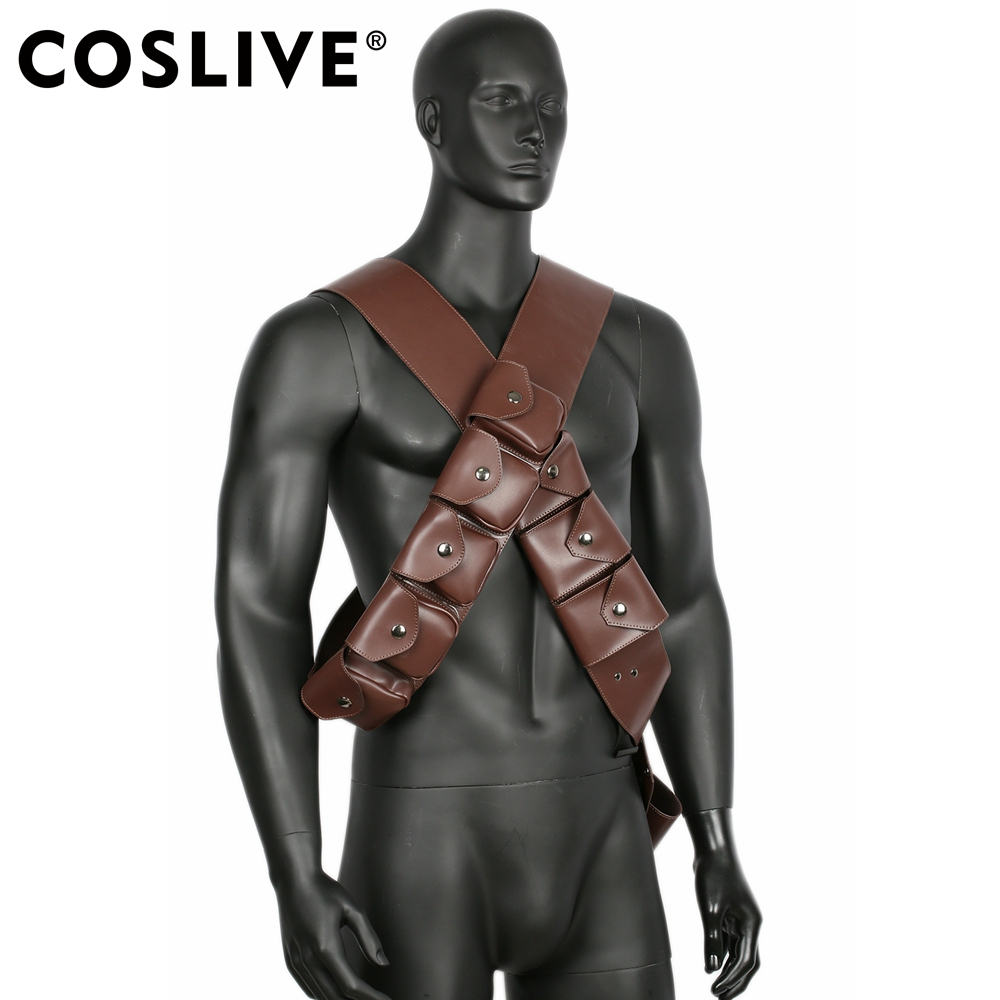 Coslive Star Wars Jawa Belt Adjustable PU Costume Accessories Copslay Costume Prop For Men Adult
