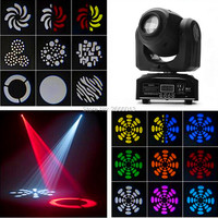 LED 30W Spot Moving Head Party Disco Dj Stage Lighting 30W Mini Gobo Projector DMX Stage