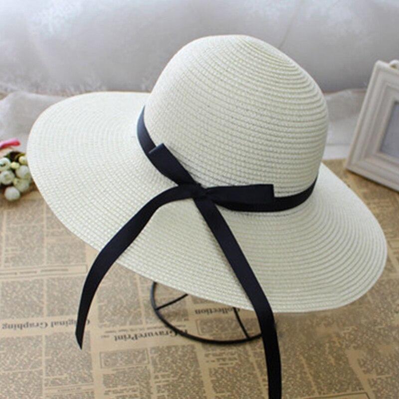 Kopfbedeckungen Für Damen Bekleidung Zubehör Enjoyfur Frauen Sommer Sonne Hut Unisex Panama Hut 2019 Neue Ankunft Mode Stroh Strand Cap