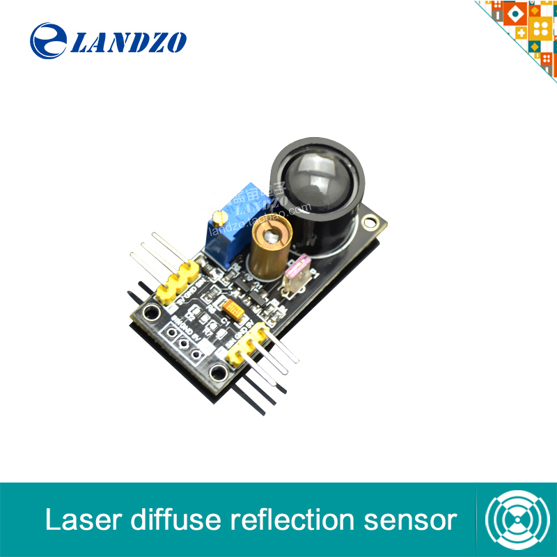 Laser Sensor Laser diffuse reflection sensor Smart car robot sensor compatible arduino