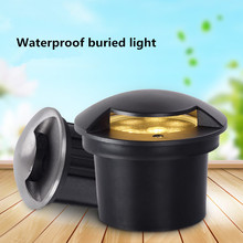 15W 6W 9W Led Underground Light Ground Floor Recessed Lamp Foot Lamps Buried 24V 220V for Garden Lawn Outdoor