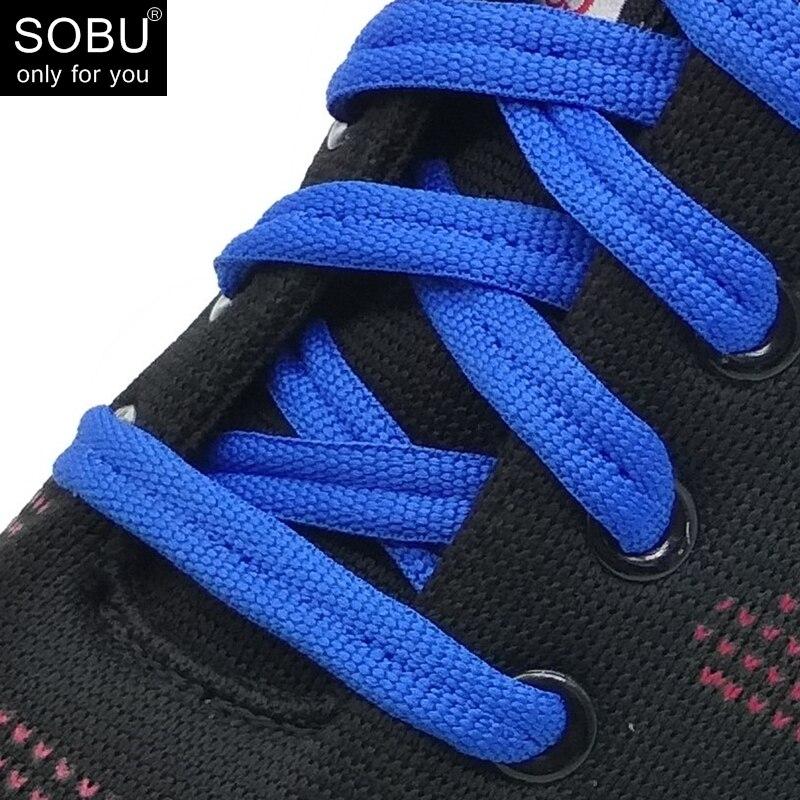 2018 new 90cm no loose creative flat lazy sports shoelaces N042 new design round shoelaces 90cm no loose creative flat lazy sports shoelaces v025