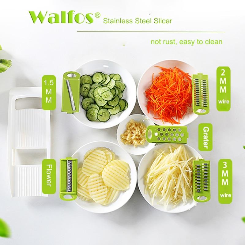 WALFOS Μαντολίνι Φρυγανιέρες Λαχανικά - Κουζίνα, τραπεζαρία και μπαρ - Φωτογραφία 3