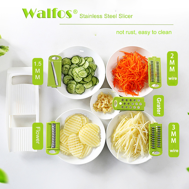 Peeler Grater Vegetables Cutter tools with 5 Blade