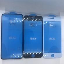 9D protectora de vidrio para iphone 6 6 S 7 7 8 plus X vidrio en iphone 7 6 8 X R XS. protector de pantalla iphone 7 6 protección de pantalla XR