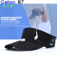 Newest CALION K7 Bluetooth Earphone Sun Hat Wireless Headphones Caps Baseball Headset Hats Built In Mic