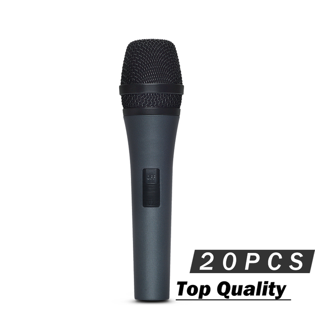 20pcs best quality super cardioid vocal microphone professional