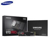 Оригинальный SAMSUNG 970 Pro M.2 SSD 512 ГБ 1 ТБ Внутренний твердотельный накопитель на жестком диске PCIe 3,0x4 NVMe 1,3 для ноутбука, настольного компьютера,