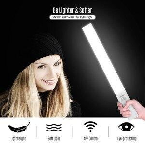 Image 5 - Yongnuo yn360s portátil luzes de led, luz de vídeo para fotografia, varinha 5500k, regulável, app, controle remoto, iluminação de estúdio de fotos