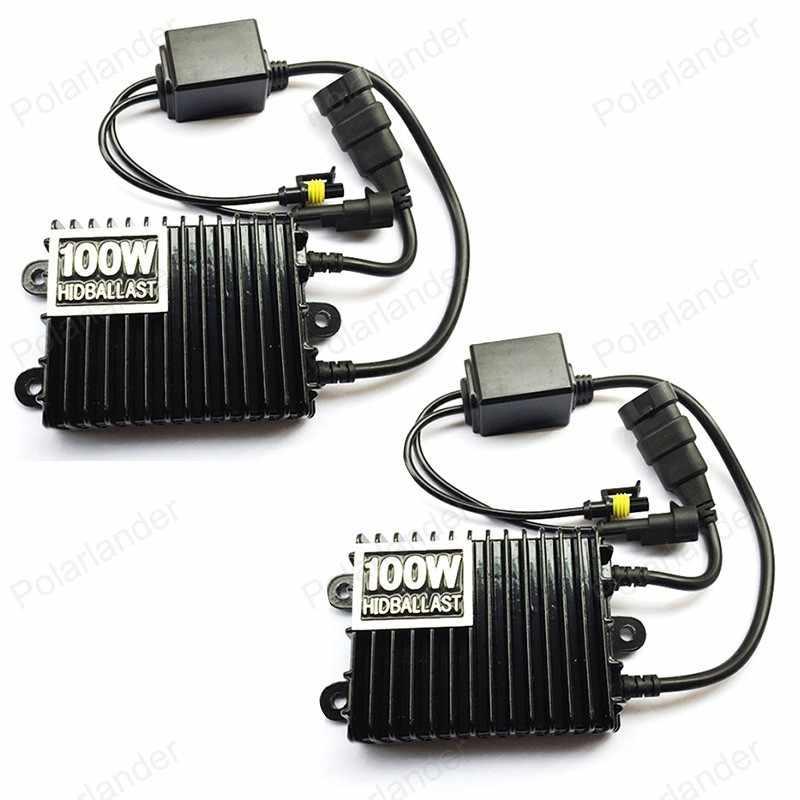 100 W הדיגיטלי slim נטל אלקטרוני hid נטל לוקי קסנון HID H3 H4 HB3 9005 HB4 9006 6000 K 8000 K 12 V קסנון נטל
