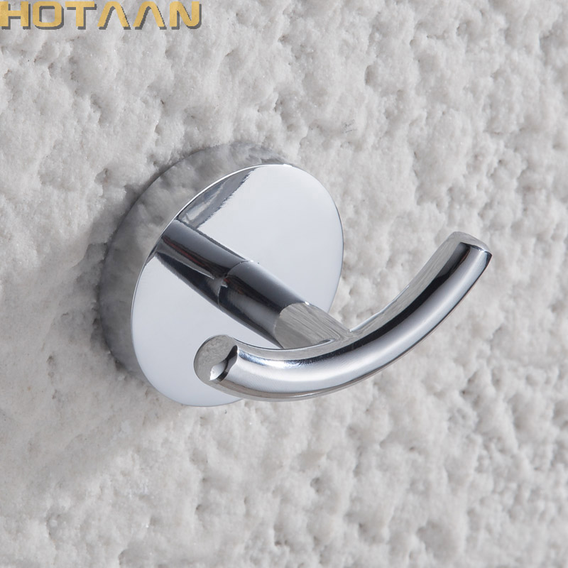 Robe Hook,Clothes Hook,Stainless Steel Construction With Chrome Finish,Bathroom Hook Bathroom Accessories,10902-B