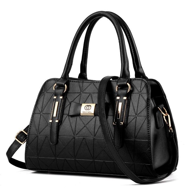 Hot Sale Fashion Women Leather Handbag Inclined Female Bow knot Shoulder Bags Handbags Lady Shopping Tote Soft Messenger Bag Sac