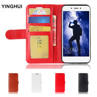 Huawei Honor 6A Case Wallet Stand PU Leather Case For Huawei Honor 6A Cover Phone Cases