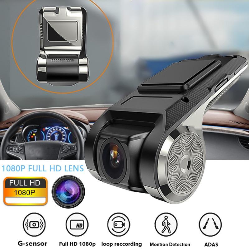 ADAS Mini HD 1080P Auto LDWS Car DVR Cam Video Recorder Camera Night Vision TF
