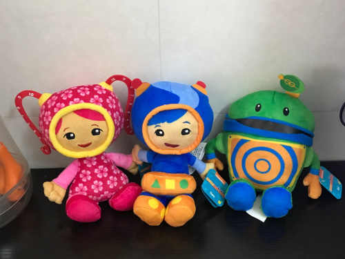 20cm Team Umizoomi Sister Girls Stuffed Animals Cartoon