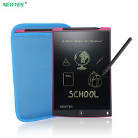 NEWYES 12 LCD Writing Tablet Digital Drawing Tablet Toy Portable Electronic Board Handwriting Pads Drawing Toy with Bag magnet