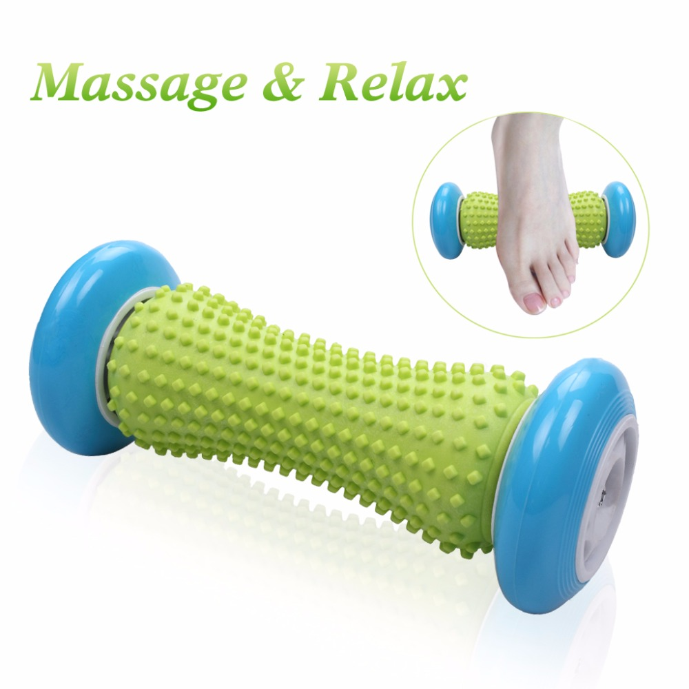 Foot Hand Massage Roller Trigger Point Deep Tissue Physical Therapy For Plantar Fasciitis Heel Foot Arch Pain Relief Fitness physical pain therapy system shock wave machine for pain relief reliever new 2000 000 shots