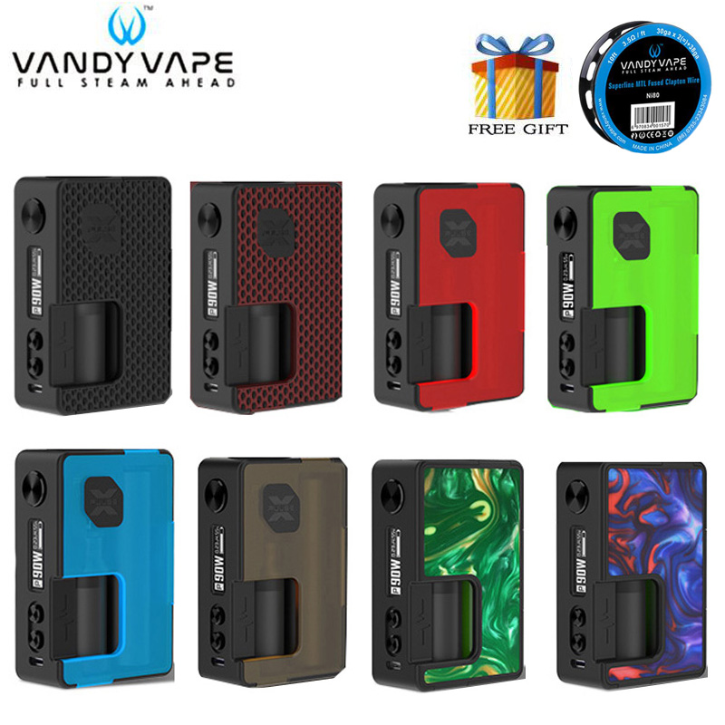 Original PULSE X BF MOD Standard Version 90W Pulse X BF MOD Vape with 8ml Squonk