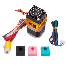 Extruder Mk8 Head J-Head Hotend For Makerbot Prusa I3 3D Printers Parts With 1Pc Mk7/Mk8/Mk9 Silicone Sock Set