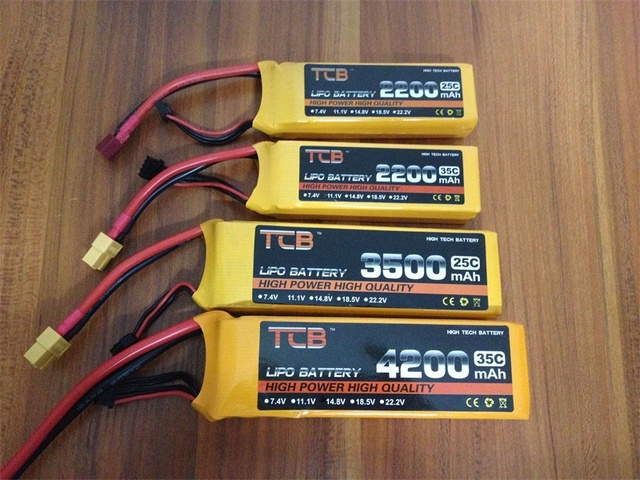 TCB RC LiPo Baterii 2 s 7.4 v 2200 mah 2600 mah 3500 mah 4200 mah 5200 mah 25C 35C dla RC samolot drone samochód 2 s 7.4 v baterie lipo