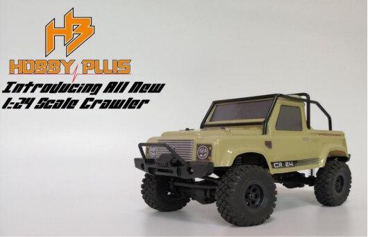 D1RC Hobby plus nowy mini CR24 1/24 wodoodporna gąsienica RC RTR gotowy do uruchomienia. w Części i akcesoria od Zabawki i hobby na  Grupa 1