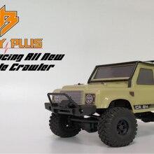 D1RC Hobby plus new mini CR24 1/24 waterproof RC crawler RTR ready to run.