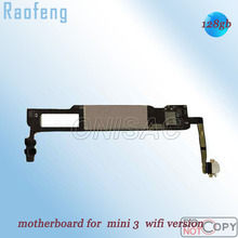 Raofeng 128GB Wifi Version  Unlocked Motherboard For ipad mini 3 high quality For  Tablet PC mainboard  logic board with chips