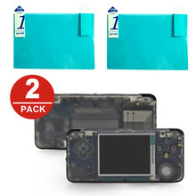 2x LCD Screen Protector Protection Film for Retrogame RS-97 Retro Game RS97 Console(China)