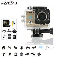 RICH 4K Action Cameras Ultra HD 1080P WiFi 2.0 pro 170D go Underwater Waterproof Helmet Video Recording Camera Sports Cam dv