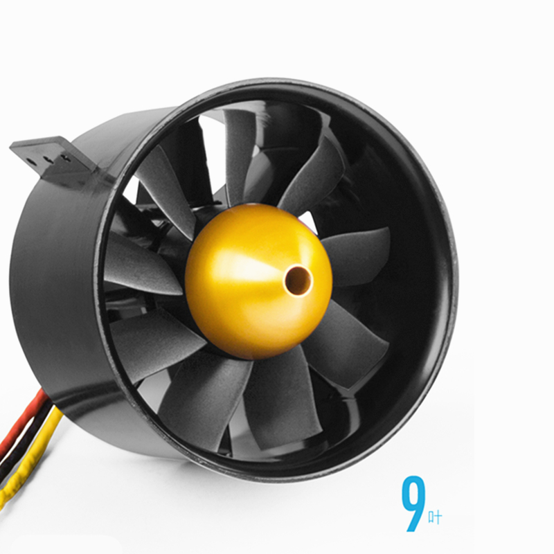 Freewing 80mm 12 Blade SMF 1850Kv For 6S High Speed Free Shipping !